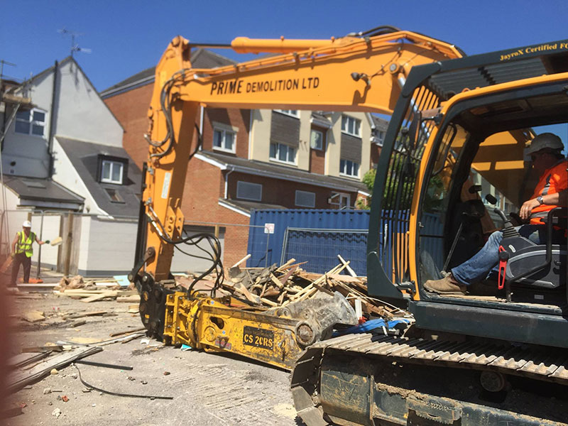 Site clearance services UK