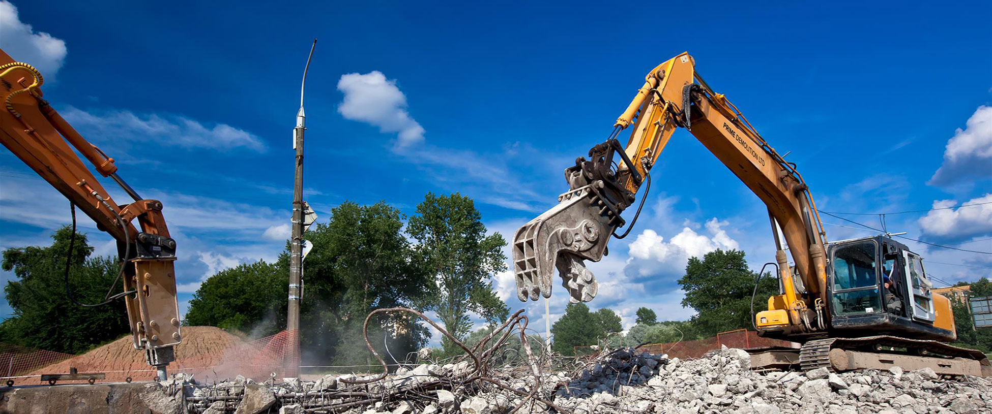 demolition and site clearance contractors