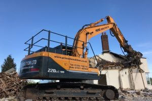 Long reach demolition