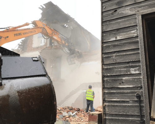 industrial demolition contractors