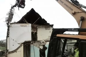 Demo of 2 story building.6